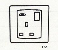 13a Switch-Socket