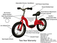 Baby Kids Cycle Parts