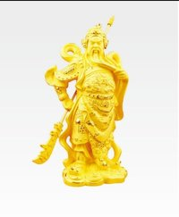 Gold Plated Handicraft Of Guan Yu