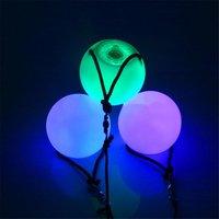 Color Changing Led Flashing Poi Ball