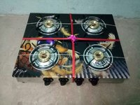Glass Top Gas Stoves