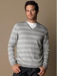 Mens V Neck Sweater