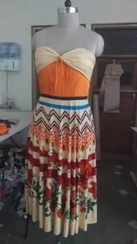 Printed Ladies Dresses