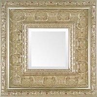 Silver Leaf Ornate Museum Photo Frame