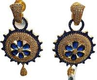 Crystal Danglers Earrings