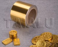 Golden Chocolate Coins Foil Wrapping Aluminum Film