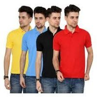 Mens Cotton Half Sleeves T-Shirts