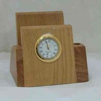 Wooden Desktop Watch