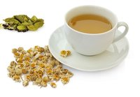 100 % Natural High Quality Camomile Cardamom Green Tea