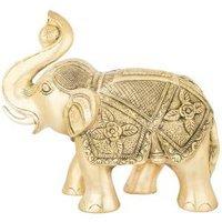 Brass Elephant Idol 29.5cm