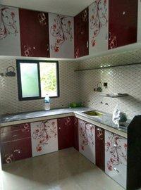Acrylic modular kitchen in vadodara gujarat for Kitchen furniture vadodara