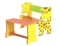Decorative Play School Table