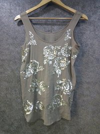 Ladies Sleeve Less Embroidered Top