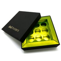 Chocolate Boxes With Tray (9 Pieces)