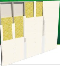 Portable Booth Magnesium Oxide Board