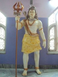 Glass Fiber Lord Shiva Sculpture