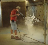 Furniture Powder Coating Service