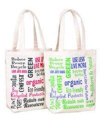 Designer Organic Cotton Bags