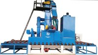 Conveyor Type Shot Blasting Machine