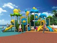 Kids Outdoor Sunshine Sea Type Playground Equipment