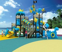 Plastic Children Outdoor Playground Equipment