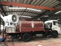 Dust Control Water Spray Tank Truck
