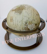 Desktop Ring World Map Globes