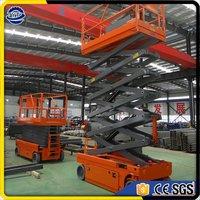 Hydraulic Auto Self Propelled Scissor Lift Electric Aerial Work Platform