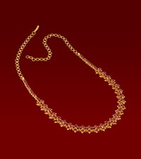 Vjg-109 Ruby Necklace