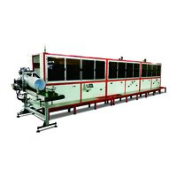1 To 8 Color UV Bucket Automatic Screen Printing Production Line