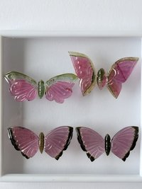 Butterfly Carving Tourmaline