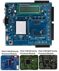 Psoc 3 Development Kits Processor Module