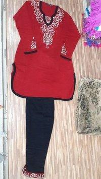 Woolen Punjabi Stitched Suit