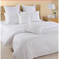Satin Stripe Bed Sheets