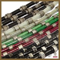 10.5mm Diamond Wire Rope Saw For Stone Cutting