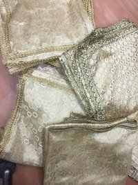 Gold Embroidery Net Dupattas
