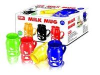 Plastic Milk Mugs