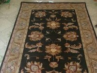 Handknotted Carpet in Bhadohi