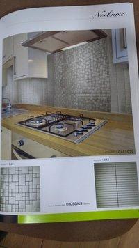Stainless Steel Mosaic Kitchen
