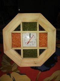 Hand Made Wooden Clock Pulse Watch