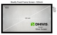 Silver Fixed Frame Screen
