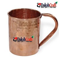 Pure Hammer Copper Mug Set