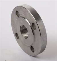 BS 4504 Alloy Steel Threaded Pipe Flange BSPT