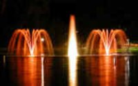 Floating Lake Fountains