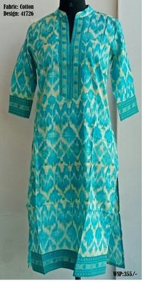Printed Cotton Kurtis (Ac41726)