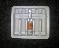 Ampoule Packing Pvc Tray