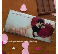 Personalized Chocolate-Love