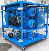 Mobile Vacuum Transformer Oil Purification Plant