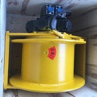Small Hydraulic Winch For Recovery And Lifting