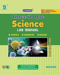 Candid 3-In-1 Science Lab Manuals